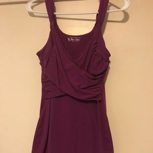 Victoria's Secret bra top dress. Small. Purple.